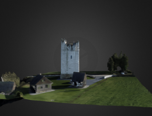 Grantstown Castle 3D Model